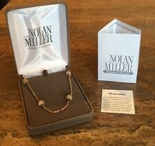 "NOLAN MILLER SPARKLING GLAMOUR COLLECTION ""SIMULATED DIAMOND NECKLACE GORGEOUS!"