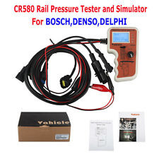 Diesel Common Rail Pressure Tester CR508 and Simulator for Bosch/Delphi/Denso