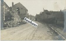 Foto Somme-Schlacht-Ort/ Dorf-Name ???  1.WK (c557)
