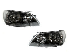 DEPO 01-05 LEXUS IS300 IS-300 CLEAR CORNER BLACK XENON HEADLIGHTS DOT/SAE JDM