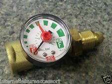 HiLo Gas Gauge Excess Flow Indicator - Propane Screw-In Fitting -TRACKED POST