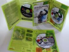 XBOX 360 SPIEL Metal Gear Solid V, Space Marine, Rred Faction, USK18