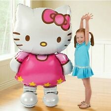 Large 118x68cm Hello Kitty Cat Foil Helium Balloon Cartoon Birthday Decoration