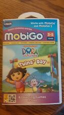 New VTech MobiGo Touch Learning Nickelodeon Dora The Explorer Twins' Day Game