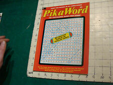Unused High Grade: PIK-A-WORD may 1974; the tantalizing word find game UNUSED