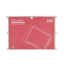 Memory Card Holders fits 2 SD Cards + 4 Micro SD Cards  JJC MCH-SDMSD6CN CASE