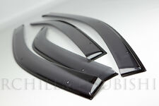 2008-2012 MITSUBISHI LANCER VENT EVOLUTION EVO X DOOR VISORS WINDOW MZ562863EX