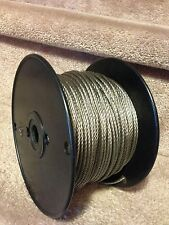 "3/32"" Stainless Steel Wire Rope Cable - 7x7 - 500ft"