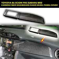 DASHBOARD COVER(2PCS)-LHD Carbon Fiber 13 14 15 TOYOTA 86 SCION FRS SUBARU BRZ