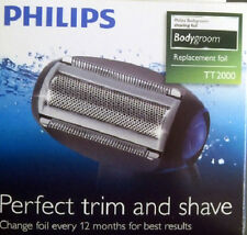 Philips TT2000 BodyGroom Shaving Head Foil - To fit: TT2020 TT2020 TT2022 TT2021