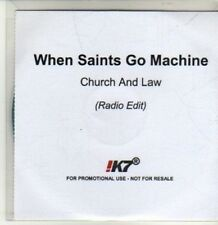 (CU109) When Saints Go Machine, Church & Law - 2011 DJ CD