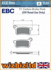"EBC Front Left Carbon TT Brake Pads KTM SX 85 (17""/14"" wheels) 11 FA357TT"