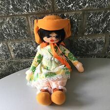 VINTAGE# 70s RARE MADE IN SPAIN PICO' DOLL PANNO LENCI STYLE With Bag