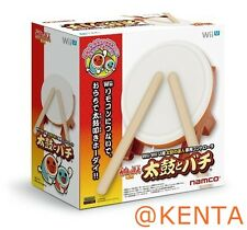 New Taiko no Tatsujin Wii U Drum & Drumstick Bachi Controller From Japan F/S