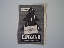 advertising Pubblicità 1947 CINZANO VERMOUTH