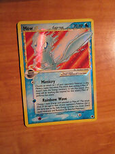 GOLD STAR Pokemon MEW Card EX DRAGON FRONTIERS Set/101 Ultra Rare Shining Delta