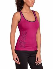 Zumba Dance Fitness Women's Rock With Me Racerback Athletic Top Pin A Rose Sz S