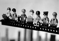 LEGO MEN LUNCH ON TOP OF SKYSCRAPER WALL ART - ONE PIECE POSTER (A0 - A5 SIZES)