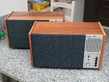 Vintage Studio Monitors NFM BEAG LOMO HEC20 full range speakers Excellent Look!