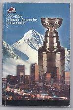 1996-97 Colorado Avalanche Media Guide