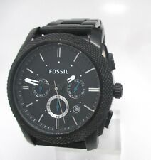 Fossil Chronograph Black ion-plated Mens Watch FS4552 doesn't work
