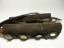 North Star Brown Suede Long Hair Ties-For Pony Tail/Braid Wrap-Save $4 USA #112