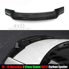 mercedes e63 amg carbon fiberspoiler e class sedan w212 e200 e250 e260 2011-2016