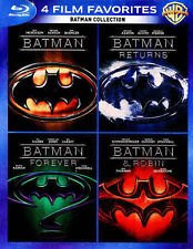 Batman Collection: 4 Film Favorites Returns Forever (Blu-ray 4-Disc Set) NEW