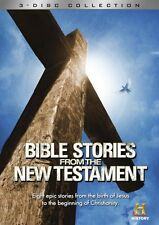 BIBLE STORIES FROM THE NEW TESTAMENT New Sealed 3 DVD Set History Channel