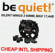 [be quiet!®] SILENTWINGS 2 92mm PWM Low noise CaseFan  17.4dB Cooler CPU 9.2cm