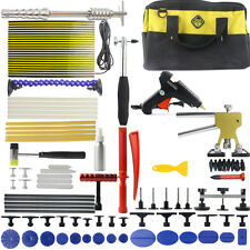 Auto PDR Tool Kits Dent Lifter Slide Hammer Paintless Dent Repair LED Line Board