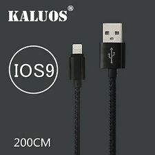 Long Original Kaluos USB Cable for iPhone 6S 6 5S 5 Data Charger Extension Lead
