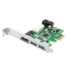 NEW 2 Ports USB 3.0 + eSATA 3.0 + SATA 3.0 + 20 Combo PCI-E Card 6.0Gbps
