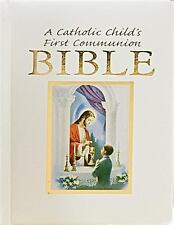 Catholic Child's Traditions First Communion Gift Bible-Nab-Boy by Victor...