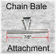 NEW 925 Silver Pendant Chain Bale Attachment Converter for your Brooch Pin 7/8""