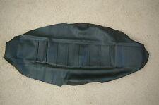 FLU  PLEATED BLACK GRIPPER SEAT YAMAHA YZF250 YZF450 YZ250F YZ450F 06 07 08 09