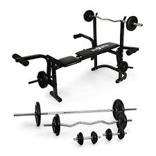 BENCH KRAFTSTATION TRAINING BENCH MULTI FITNEES DUMB BELLS DUMBBELL WEIGHTS