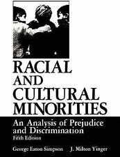 Racial and Cultural Minorities: : An Analysis of Prejudice and Discrim-ExLibrary