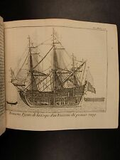 1764 Naval Architecture Ships Fishing Marine Ocean Life Shell Fossils Navigation
