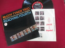 McCoy Tyner Trio Impulse stereo pressing Lp A-33 - Reaching Fourth