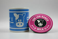 Zelda Lon Lon milk mug &  coaster Legend of Zelda  Nintendo super  smash bros