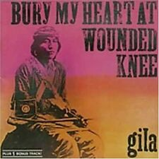GILA: Bury my heart at Wounded Knee (1973); + 1 bonus track; Conny Veit, Florian