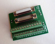 DB25-MG6 Male/Female Header Breakout Board Terminal Block