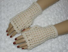 Ladies Victorian or American Civil War fingerless gloves renactment costume (C)