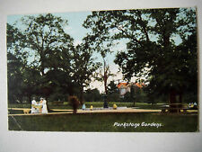 Parkstone Gardens Very Early 1900s Old Postcard 1905
