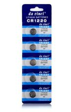 Batteries for watches and toys  CR1220 BR1220 DL1220 ECR122 3v long-lasting 5pcs