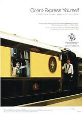 PUBLICITE  2005   ORIENT-EXPRESS    hotels & trains