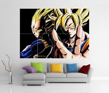 Dragonball Z Dragon ball anime manga GIANT WALL ART Photo Imprimé Poster H8
