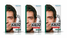 3 Just For Men AutoStop Ready to Use Mens Hair Colour Dye DARK BROWN Restorer