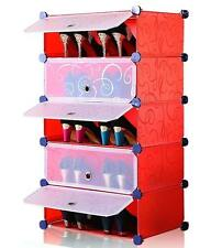 ****FREE DOOMAT 1 PCS WITH PLASTIC SHOE RACK 5 LAYERS LIGHT TRENDY SHOERACK A -2